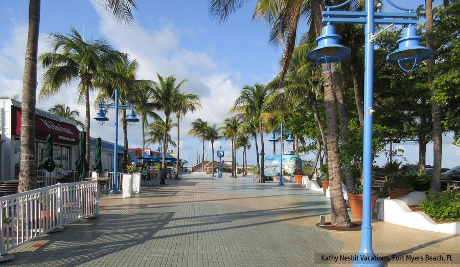 Times Square at Fort Myers Beach