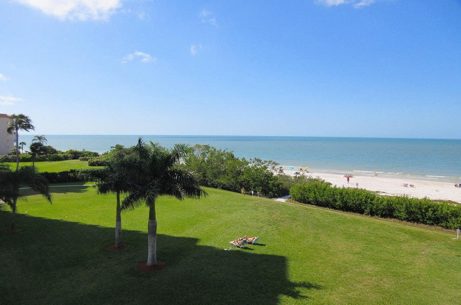 View from Estero Beach And Tennis Club 303B