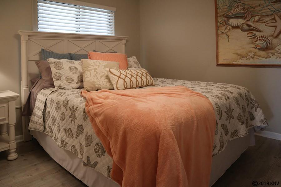 Queen Sized Bed in Guest Bedroom