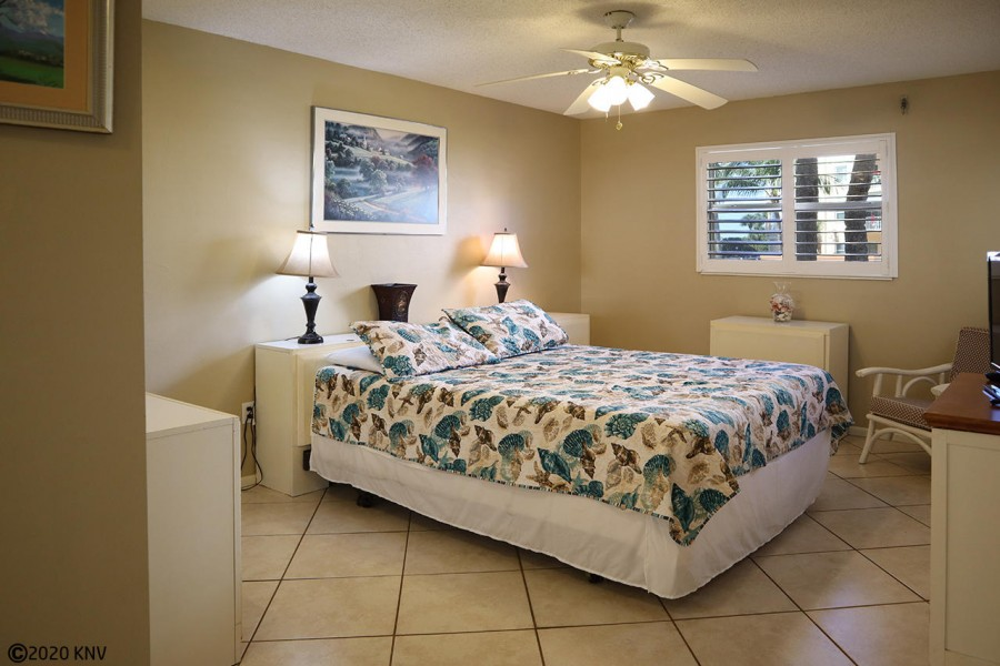 Master Bedroom has King Sized Bed