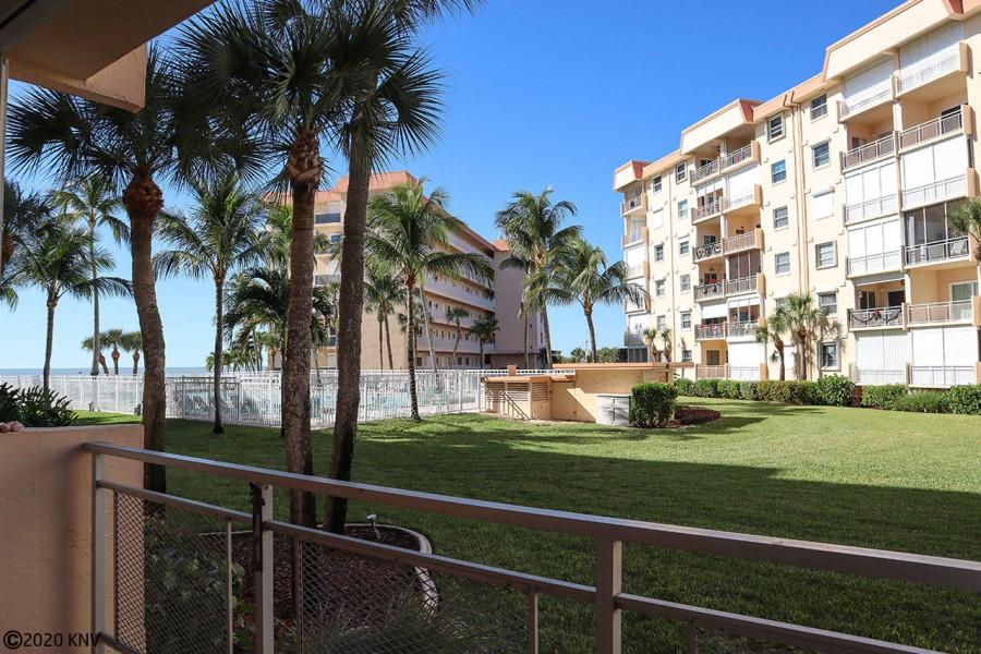 Hello Sunshine...balcony views from Leonardo Arms 110