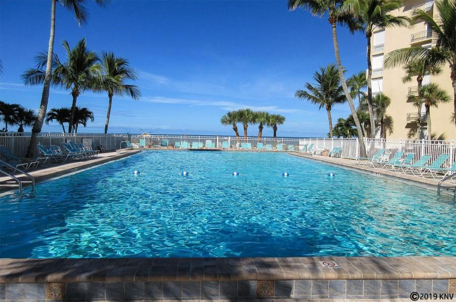 Beautiful heated resort sized pool