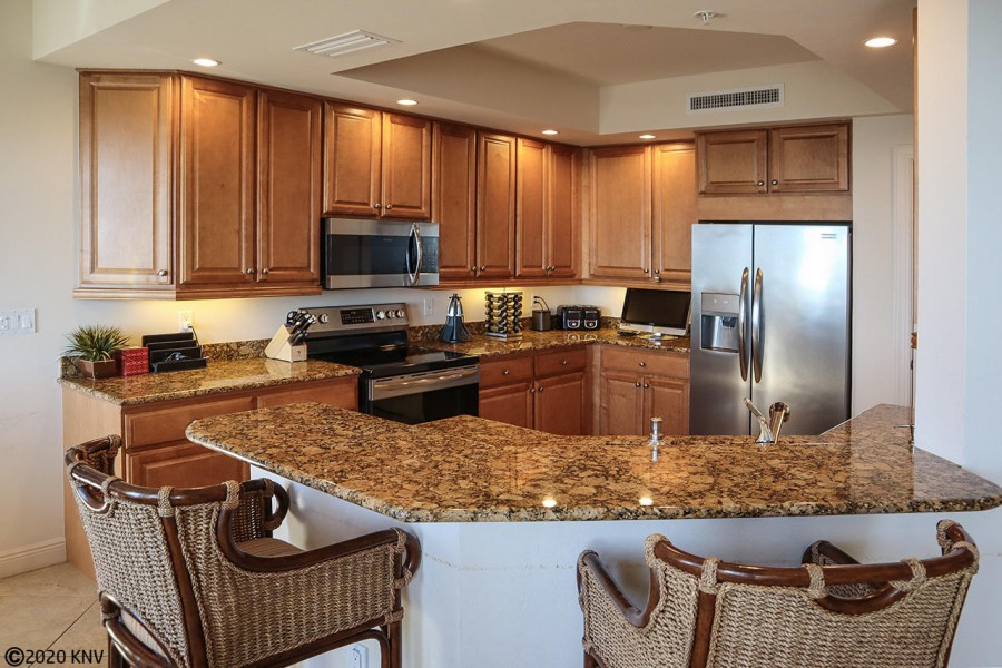 Fabulous Kitchen with granite countertops and new appliances