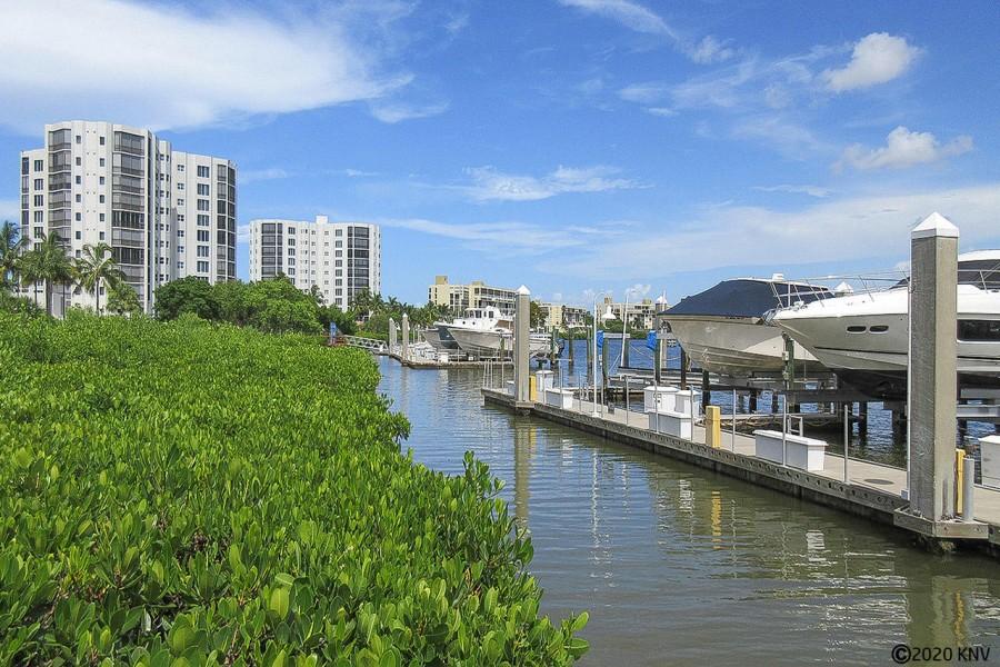 Marina and Boat Docks at Waterside