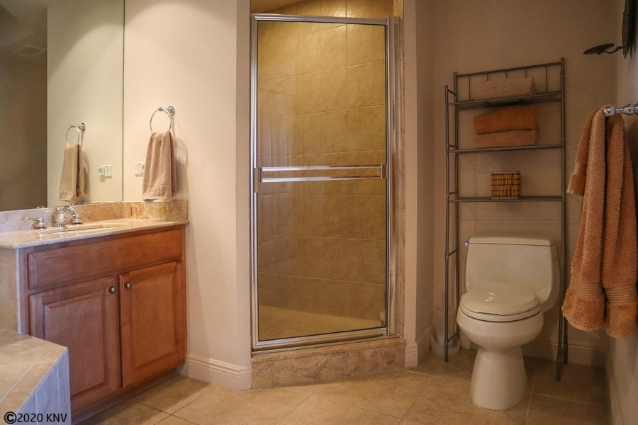 Huge Master Bath with separate tub and shower