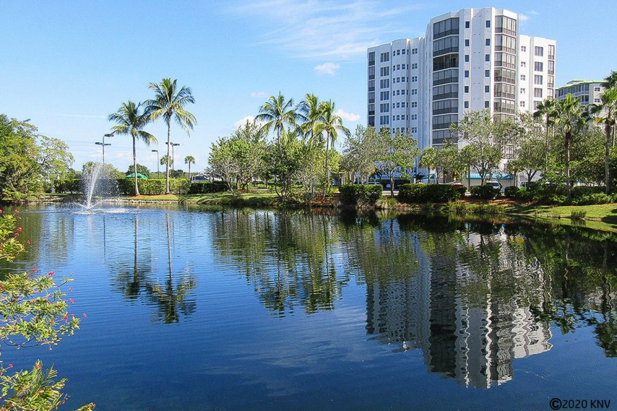 Waterside is a gated community that sits on the tip of the Bay with a short walk to the beach.