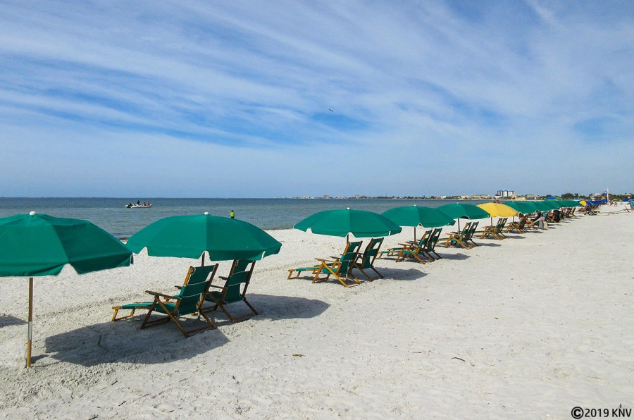 Fort Myers Beach offers 7 miles of sugar sand beach and world class sunsets.