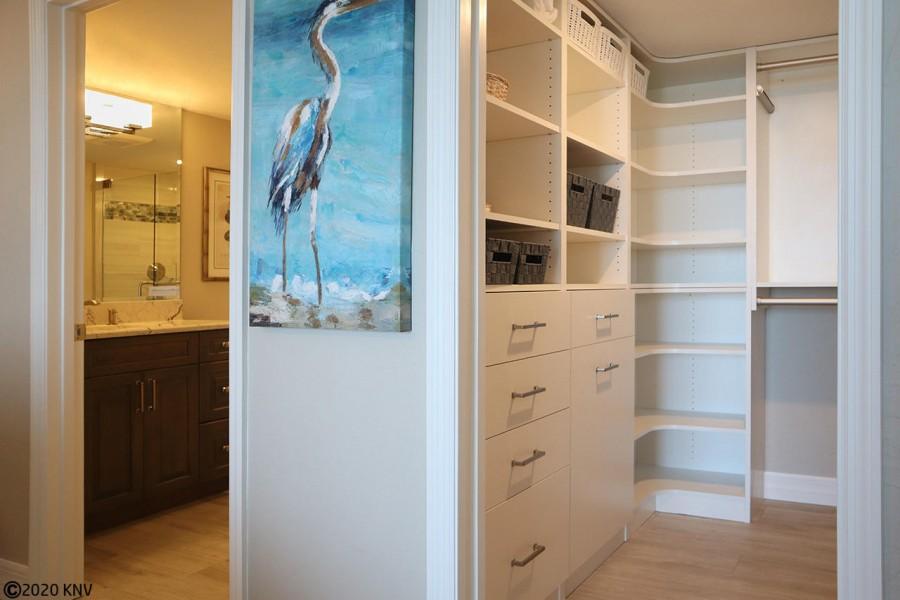 Walk in Closet and En Suite Master Bath