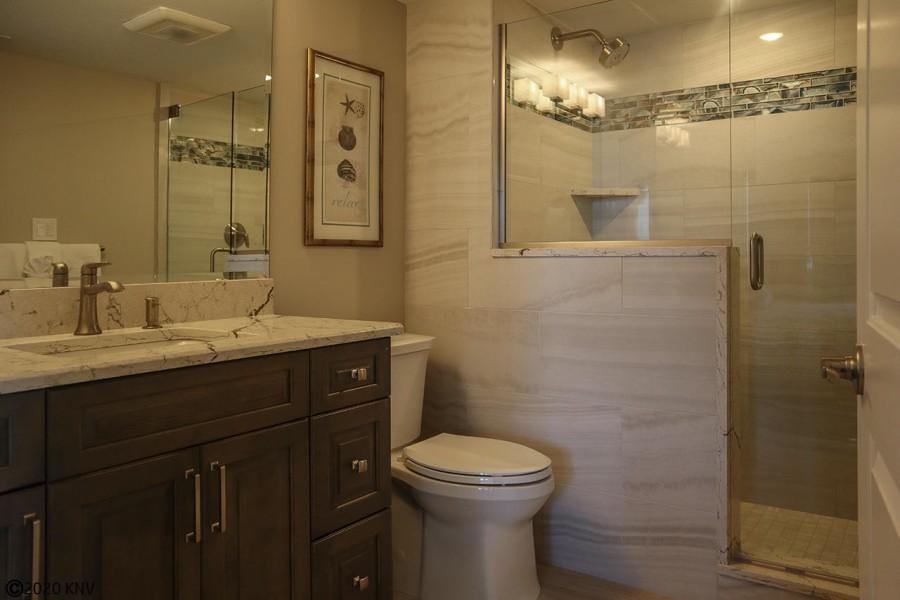 Beautiful Full Master Bath with Walk In Shower