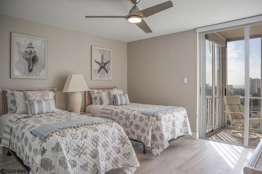 Your Guests will love waking up here. Guest Bedroom is bright, airy and comfortable.