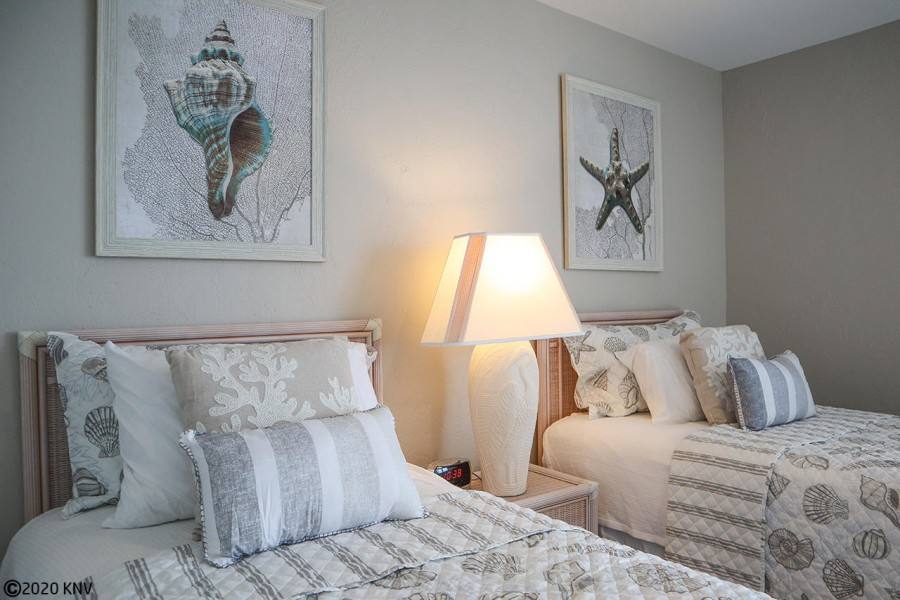 All rooms have been professionally decorated in a relaxed, elegant Florida style.