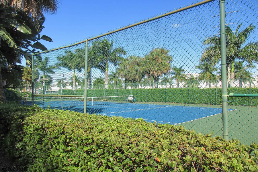 Tennis Courts are just steps away.