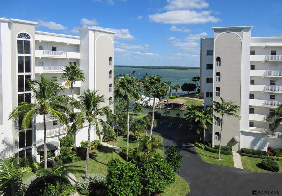 Casa Marina sits on the Bay