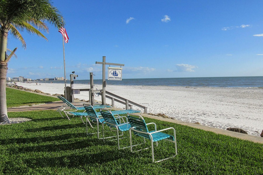 One of the top rated beaches in the country...Fort Myers Beach.