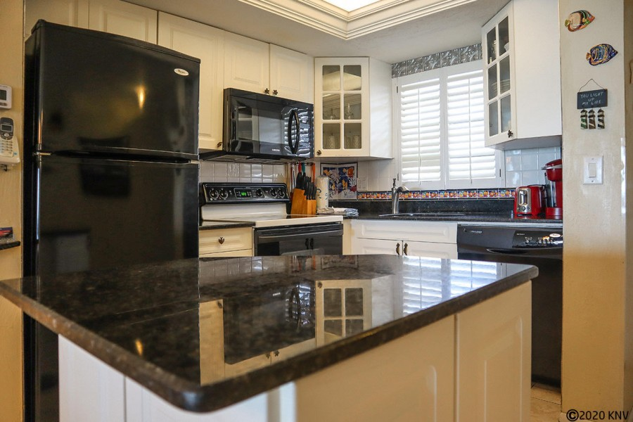 Granite countertops and new appliances