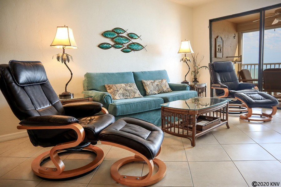 Comfortable accommodations at Smugglers Cove Beachfront Vacation Condo