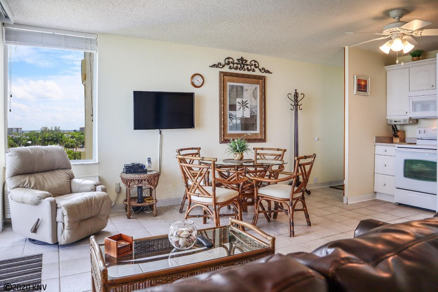 Light and airy with comfortable seating and dining area, Estero Beach and Tennis Club 505B is perfec