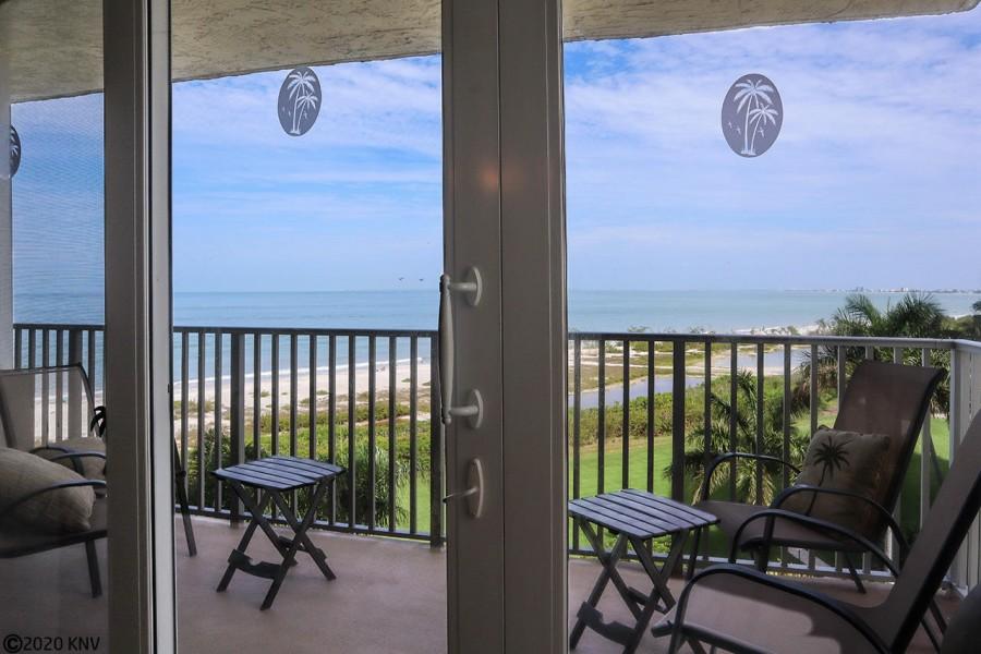 Balcony at Estero Beach and Tennis Club 505B