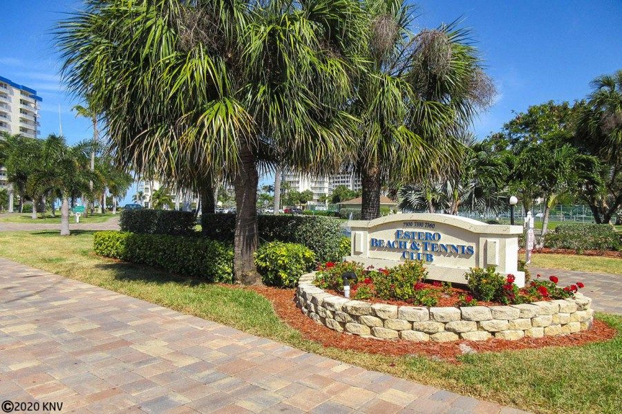 Estero Beach and Tennis Club on Fort Myers Beach