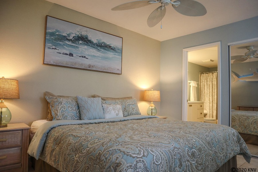 Ceiling Fan in the Bedroom