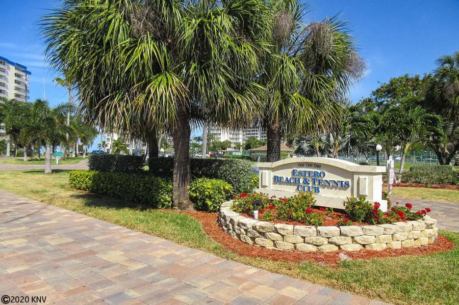 Entrance to Estero Beach And Tennis Club