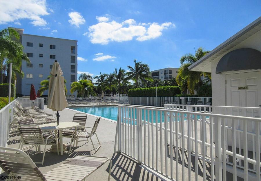 Heated Resort Sized Pool at Casa Marina