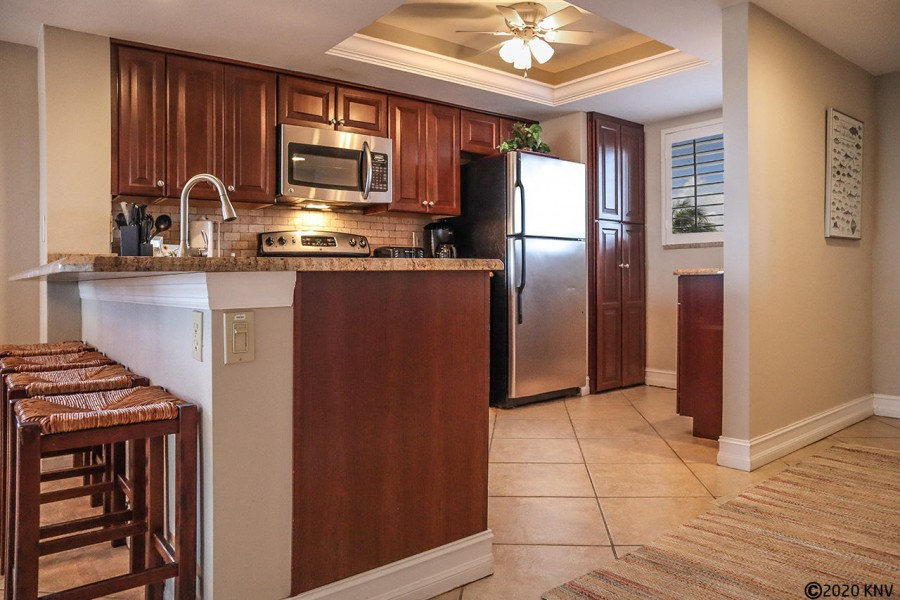 Brand new appliances including a dishwasher and stackable washer dryer.