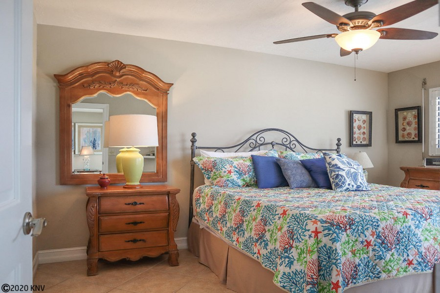 At the end of the day, the Master Bedroom awaits you.