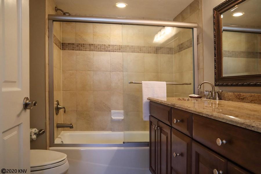 Lovely remodeled Master Bath