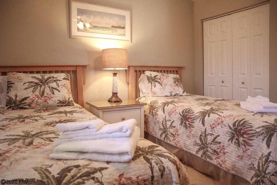 Guest Bedroom at Carlos Pointe 236