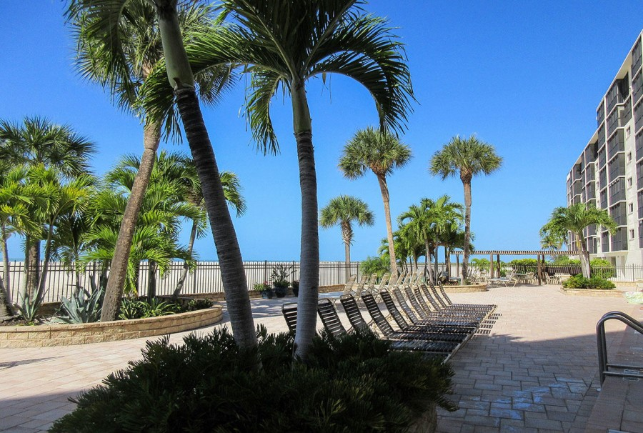 Carlos Pointe Beachfront Resort Sized Heated Pool and Sundeck