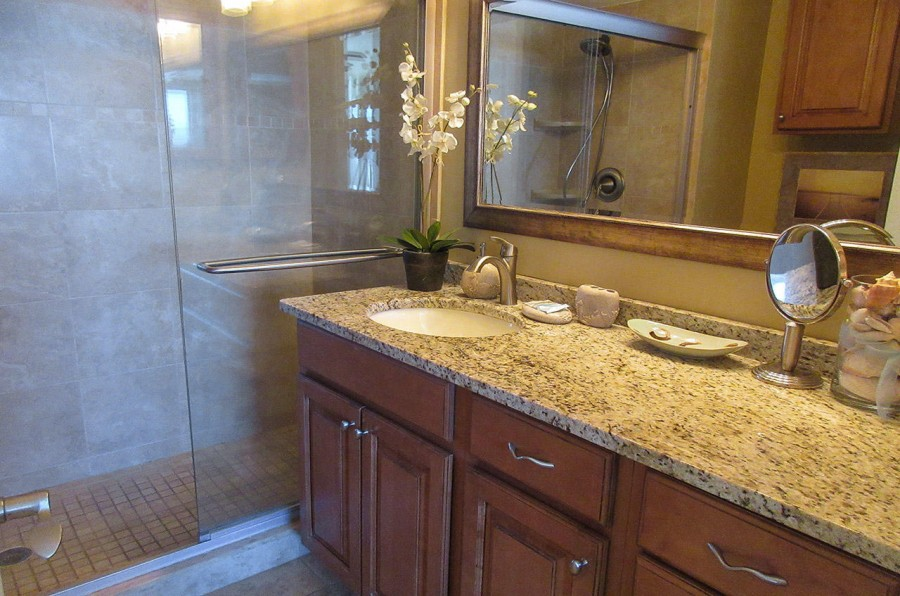 Carlos Pointe 612 Master Bath with Walk In Shower