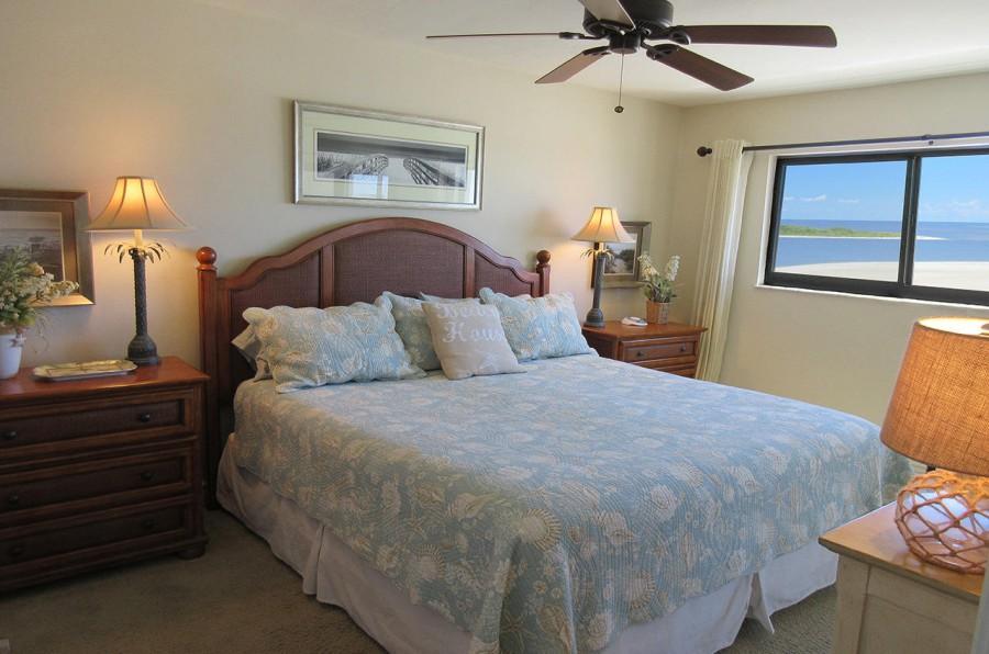 Carlos Pointe 612 Master Bedroom En Suite with Private Lanai Access