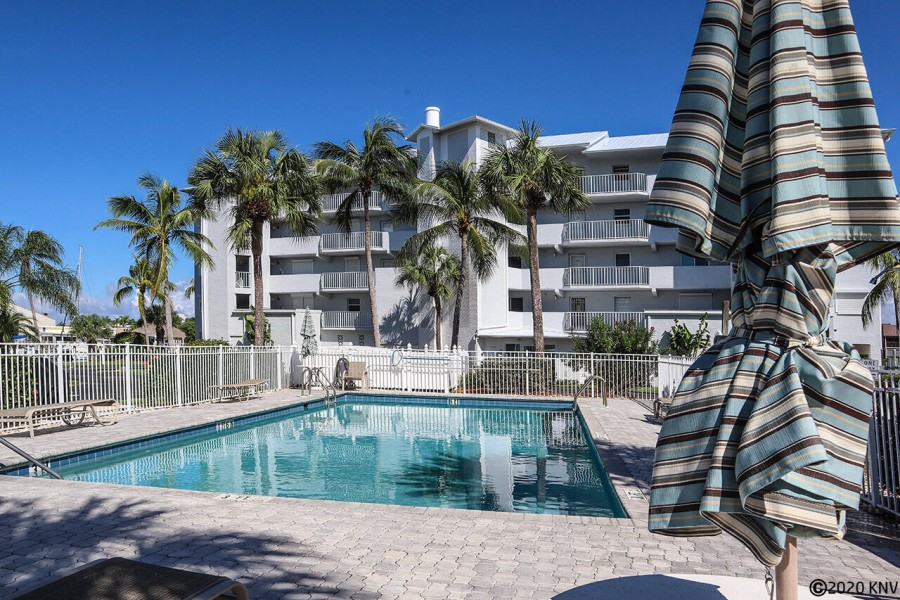 Royal Pelican amenities include two pools and sundecks.