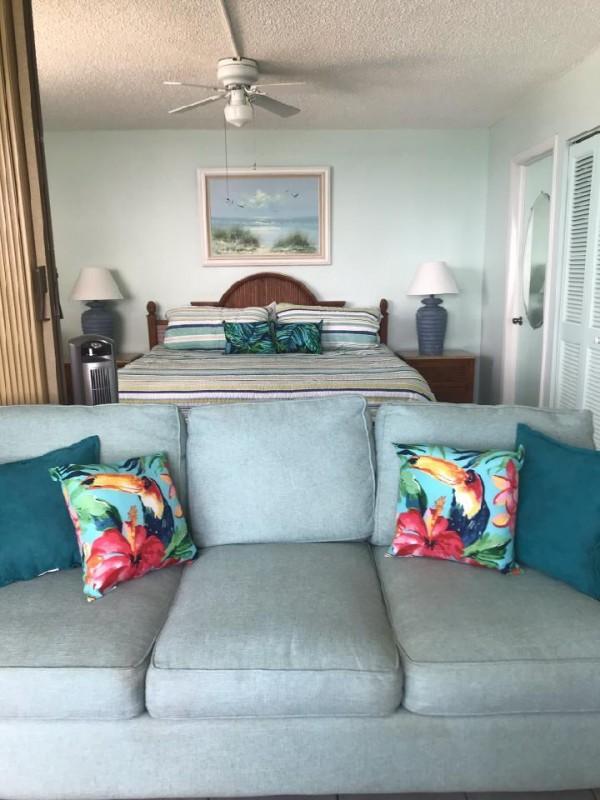 Comfortable furnishing at Estero Beach And Tennis Club 906C