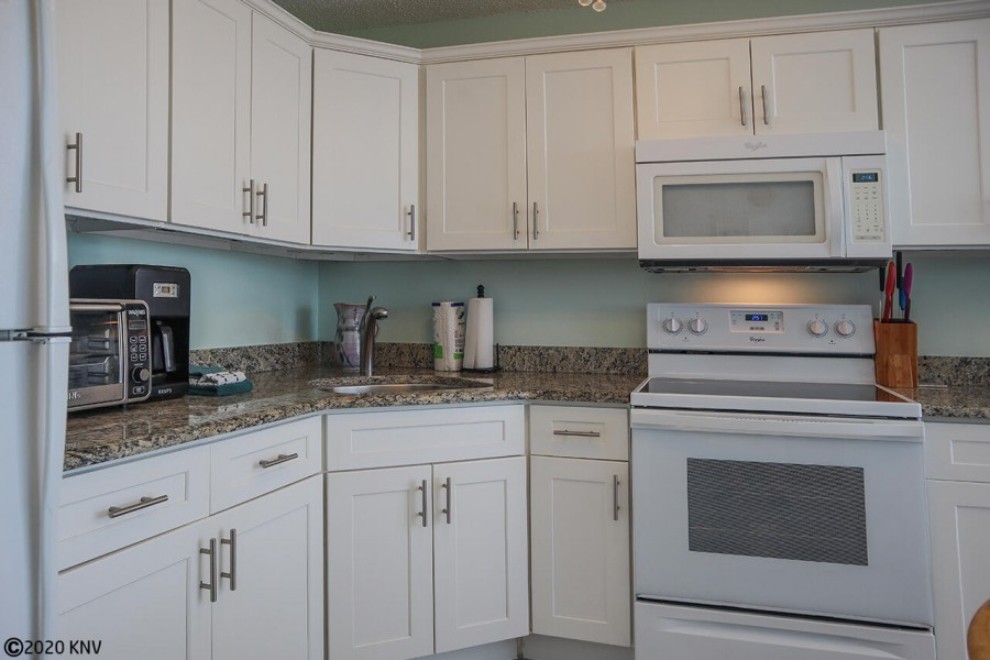 Fully Equipped Kitchen at Estero Beach And Tennis Club 906C