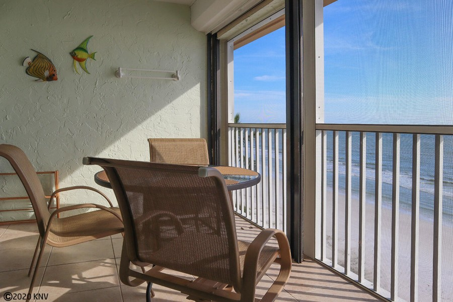 Spectacular Gulf view from Smugglers Cove 6B6 Beachfront condo