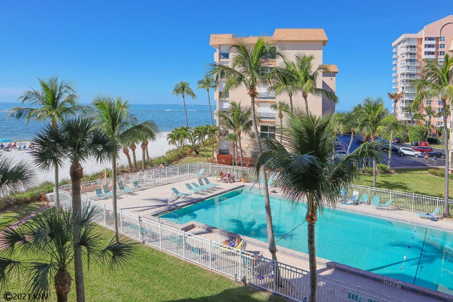 Your view from your balcony at Leonardo Arms 307