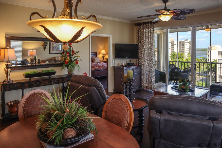 Hibiscus Pointe 764 Penthouse was professionally designed with your comfort in mind.