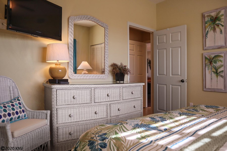 Welcoming to your guests, this 1st Guest Bedroom has all the comforts of home.