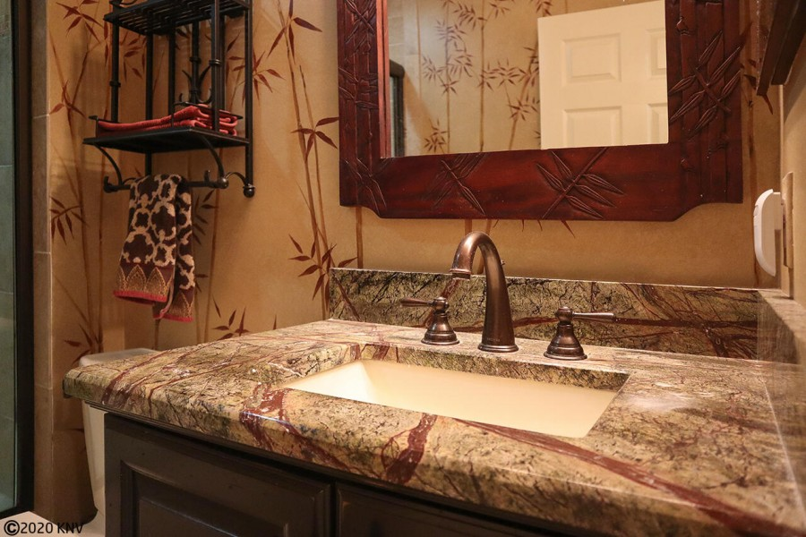 Newly renovated Guest Bath with beautiful details