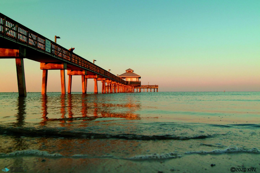 The Pier at Sunrise
