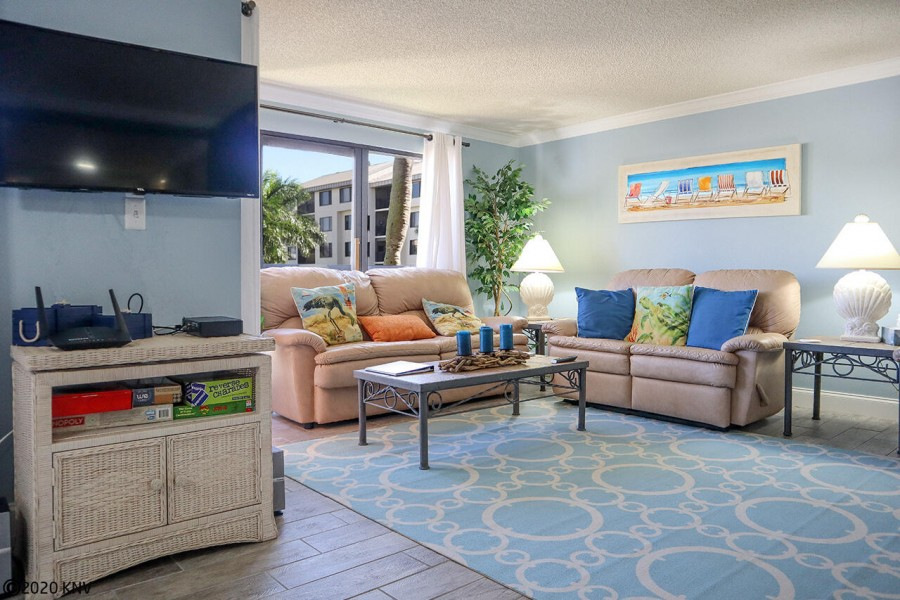 Gather in the comfy living room to watch your favorite show - over 300 channels with TV cable servic
