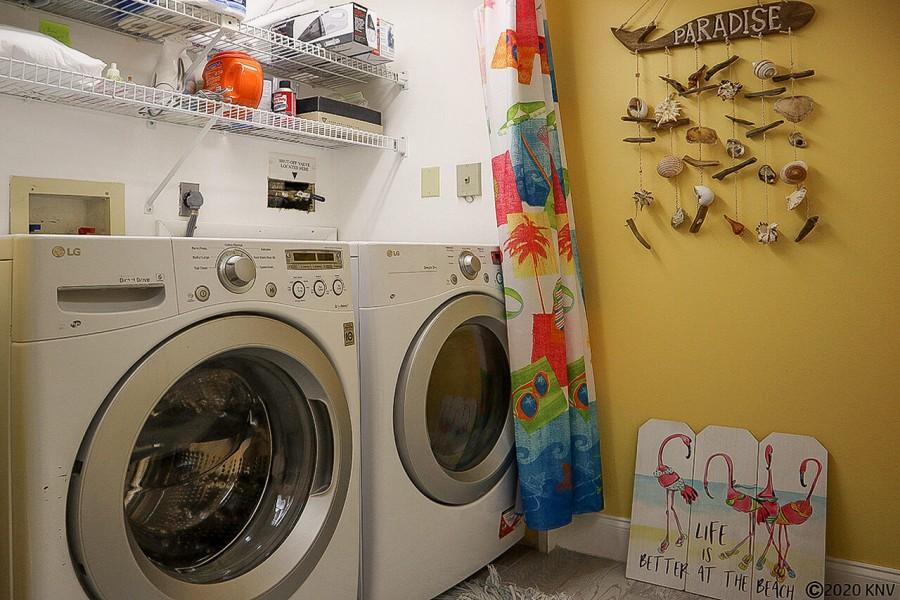 Designed for Maximum Convenience - your vacation condo includes a full sized washer and dryer