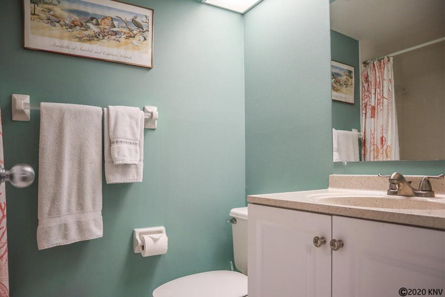 Guest Bath is an En Suite with a shower.