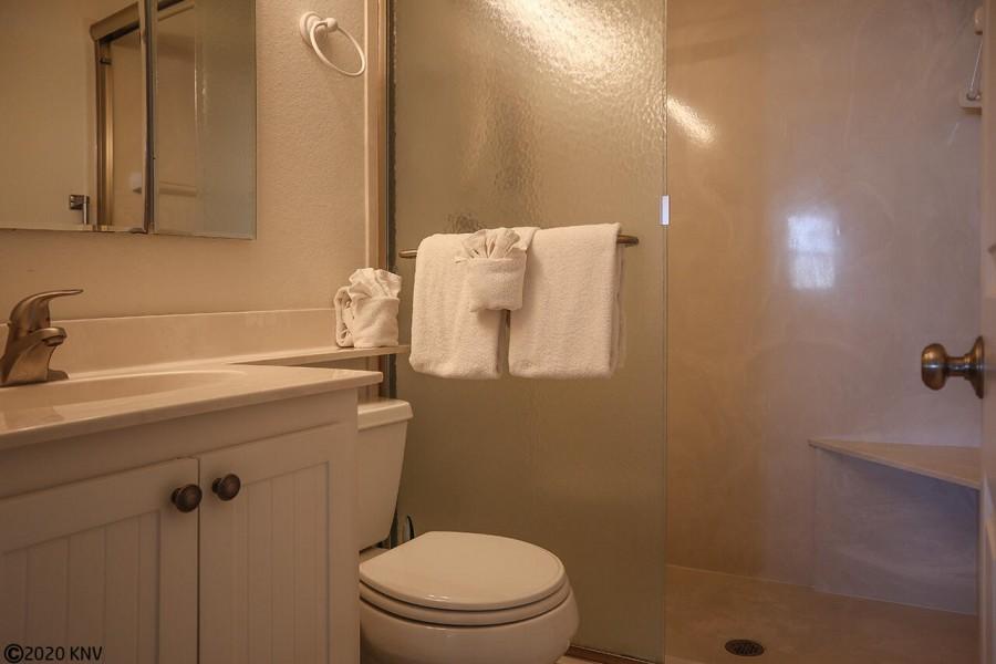 Master Bath has a Walk In Shower