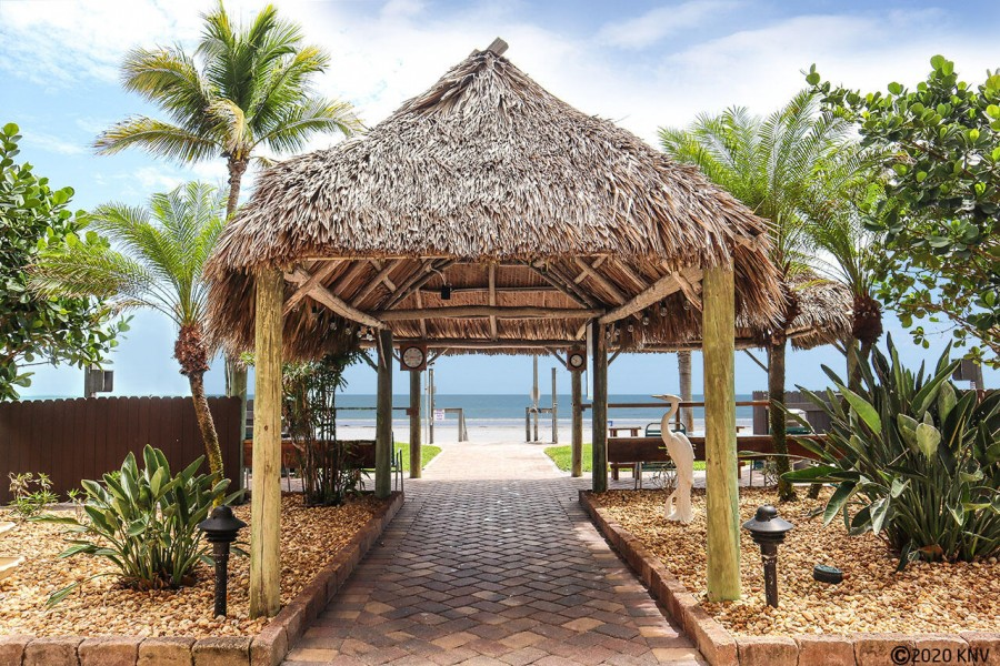 Tiki heaven at Smugglers Cove leads to sugar sand beaches