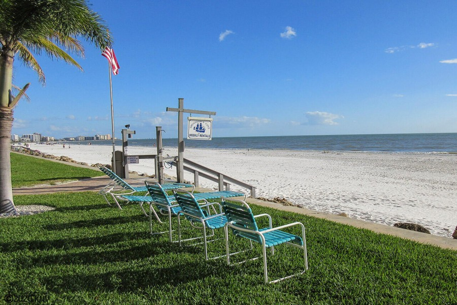 Smugglers Cove Beachfront - your lounge chair is waiting for you