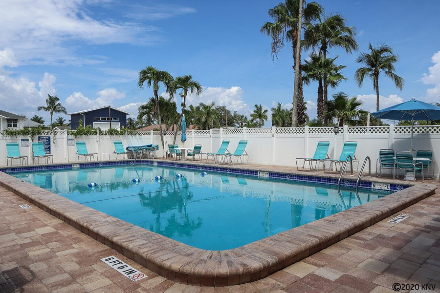 Smugglers Cove Resort Sized Heated Pool and Sundeck