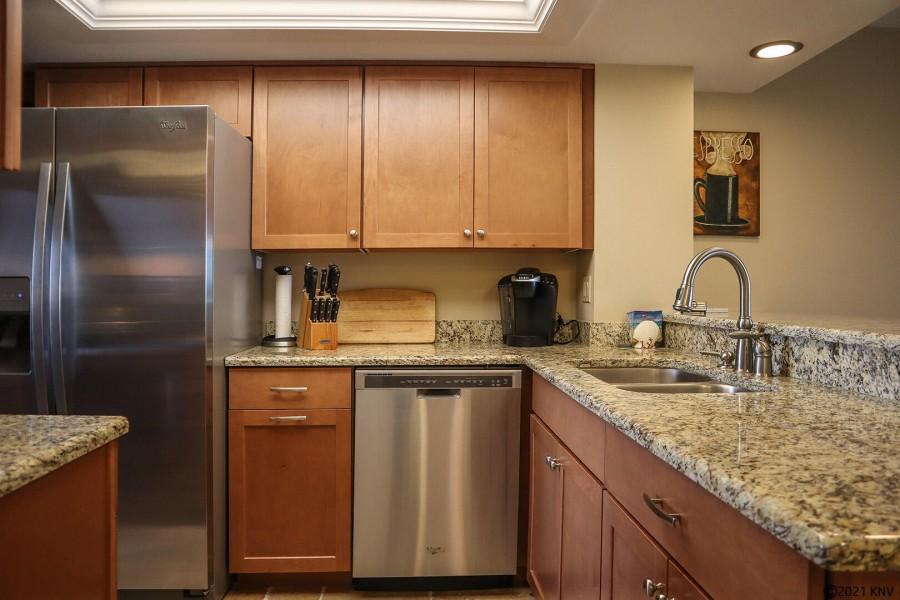 A dream kitchen allows you to eat your meals at home.